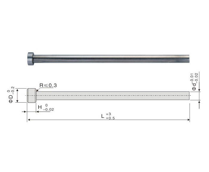 SKD-61 Straight Ejector Pin