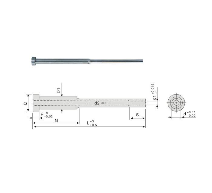 Shoulder Ejector Sleeve Pins