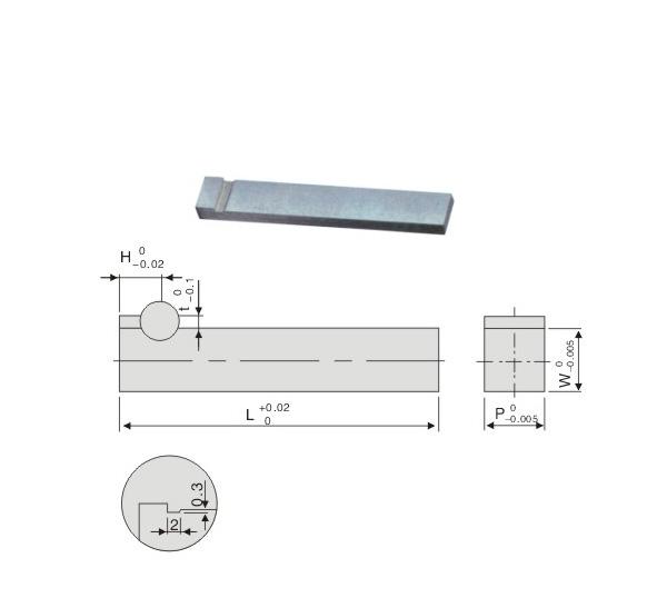 Block Core Pins-Flange Type