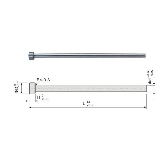 SKH-51 Straight Ejector Pin