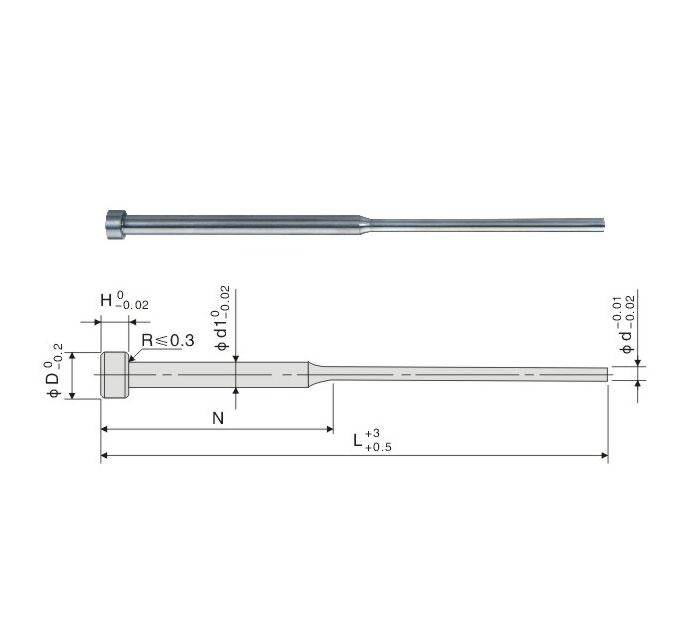 SKD-61 Shoulder Ejector Pin