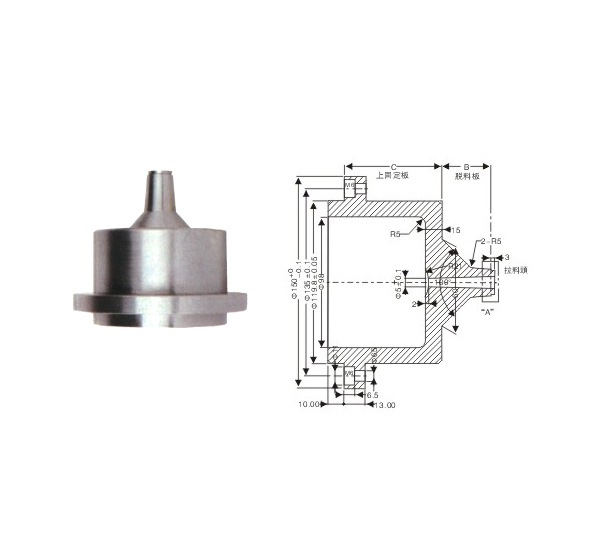 Special Sprue Bushing-Small water spigot standard (Φ120)